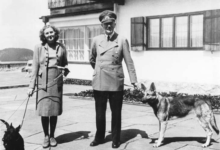 German Shepherd Dog Blondi Hitler
